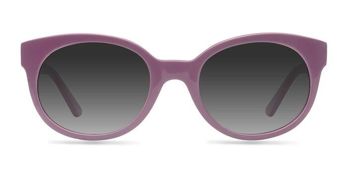 Matilda Purple Acetate Sunglass Frames from EyeBuyDirect