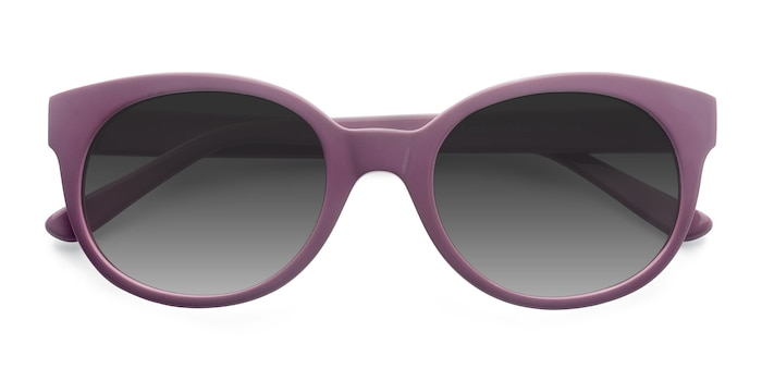 Purple Matilda -  Vintage Acetate Sunglasses