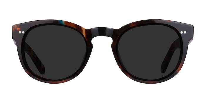 Horizon Nebular Blue Acetate Sunglass Frames from EyeBuyDirect