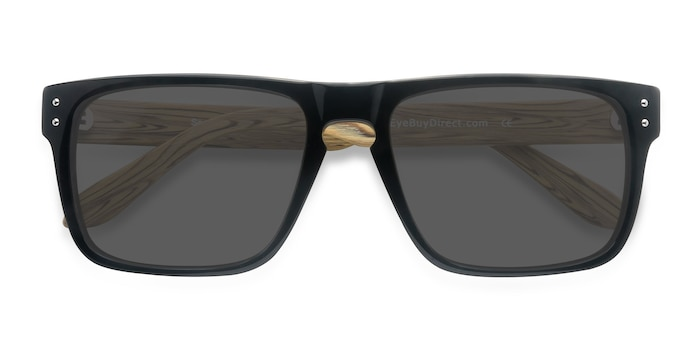 Black Yellow Sergi -  Acetate Sunglasses