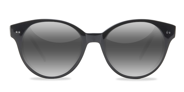 Angie  Black  Acetate Sunglass Frames from EyeBuyDirect
