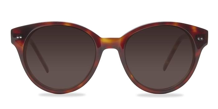 Angie  Tortoise  Acetate Sunglass Frames from EyeBuyDirect