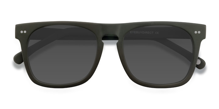 Matte Green Miami -  Acetate Sunglasses