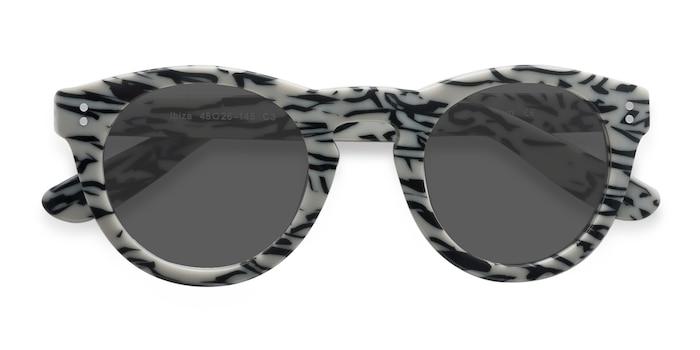 White Black Ibiza -  Acetate Sunglasses