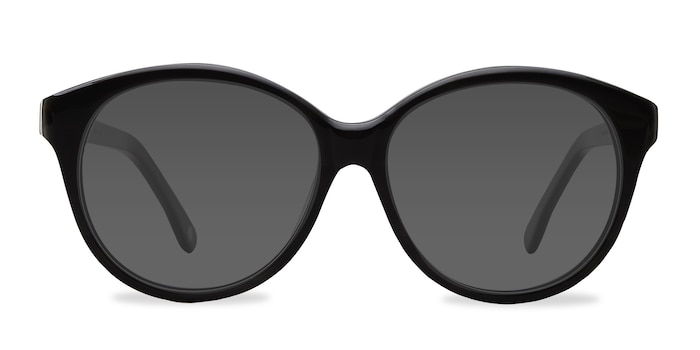 Stella Dark Gray Acetate Sunglass Frames from EyeBuyDirect