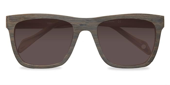 Brown Virtual -  Acetate Sunglasses