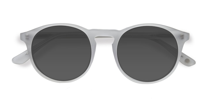 Matte Clear Air -  Acetate Sunglasses