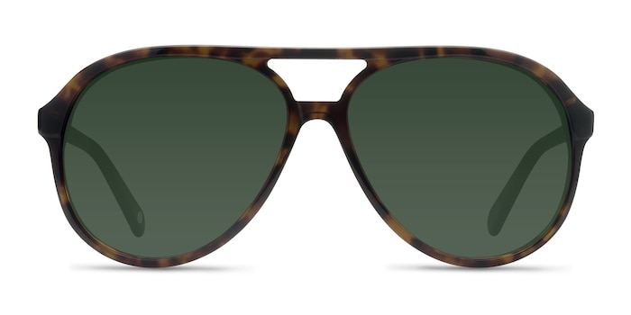Jakarta Tortoise Acetate Sunglass Frames from EyeBuyDirect