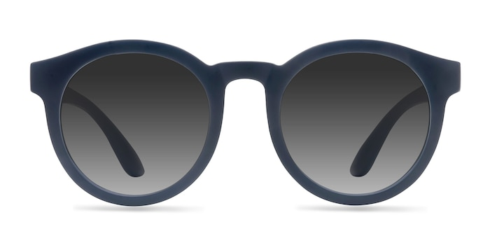 Oasis Matte Navy Plastic Sunglass Frames from EyeBuyDirect