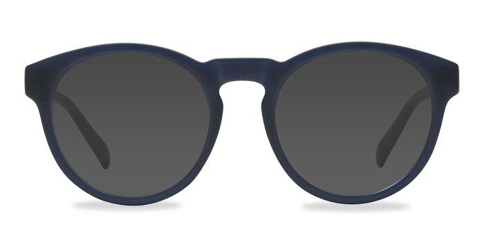 Taylor Matte Navy Plastic Sunglass Frames from EyeBuyDirect