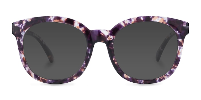 Elena Floral Plastic Sunglass Frames from EyeBuyDirect