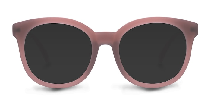 Elena Matte Brown Plastic Sunglass Frames from EyeBuyDirect