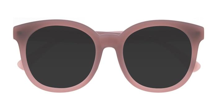 Matte Brown Elena -  Vintage Plastique Lunettes de soleil