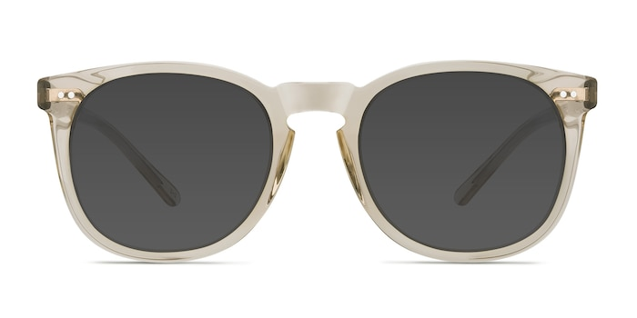 Ethereal Champagne Acetate Sunglass Frames from EyeBuyDirect