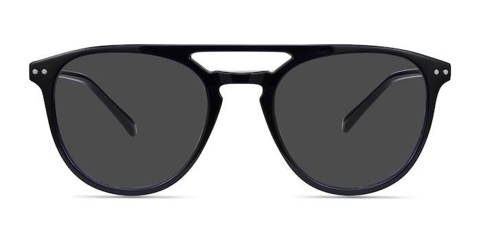 Meadow Navy Plastic Sunglass Frames from EyeBuyDirect