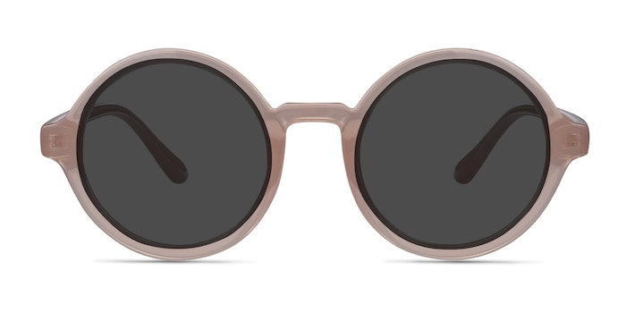 Solstice Pink Plastic Sunglass Frames from EyeBuyDirect