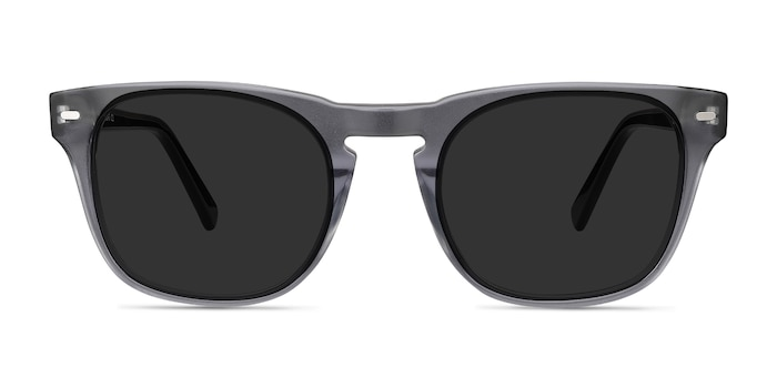 Daikon Gray Acetate Sunglass Frames from EyeBuyDirect