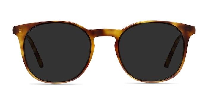 Safari Tortoise Acetate Sunglass Frames from EyeBuyDirect