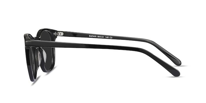 Safari Black Acetate Sunglass Frames from EyeBuyDirect