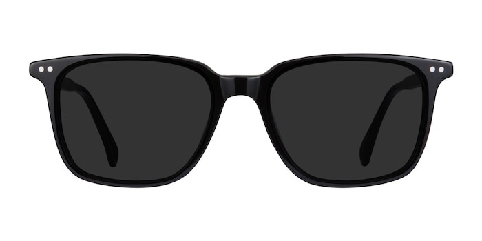 Luck Black Acetate Sunglass Frames from EyeBuyDirect