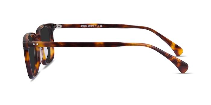Luck Tortoise Acetate Sunglass Frames from EyeBuyDirect