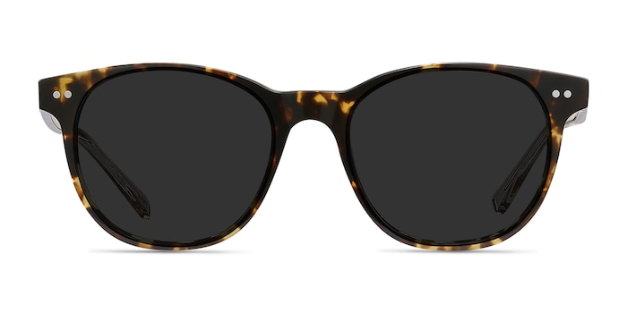 Sol Tortoise Brown Acetate Sunglass Frames from EyeBuyDirect