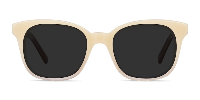 Quartz Ivory Acetate Sunglass Frames from EyeBuyDirect