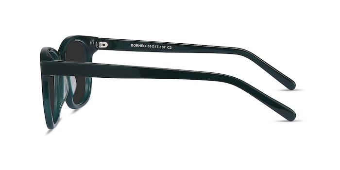 Borneo Green Acetate Sunglass Frames from EyeBuyDirect