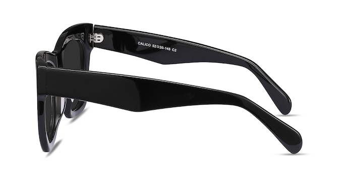 Calico Black Acetate Sunglass Frames from EyeBuyDirect