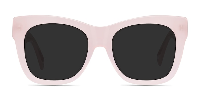 Calico Pink Acetate Sunglass Frames from EyeBuyDirect