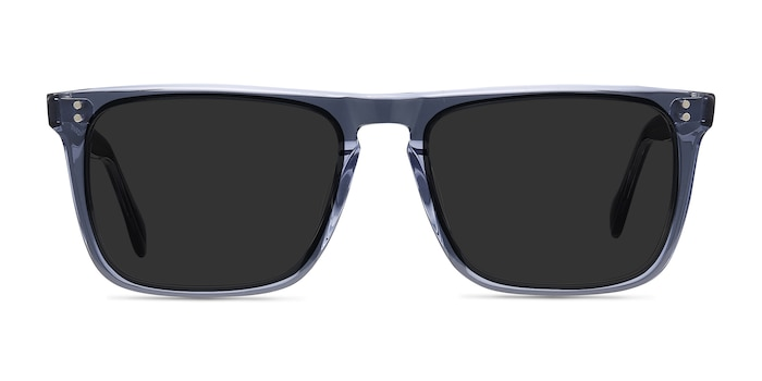 Cantina Blue Acetate Sunglass Frames from EyeBuyDirect