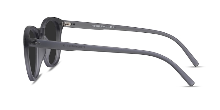 Hidden Gray Plastic Sunglass Frames from EyeBuyDirect