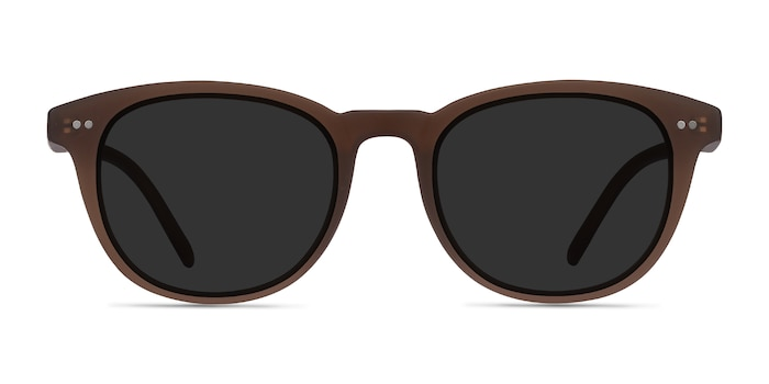Hidden Brown Plastic Sunglass Frames from EyeBuyDirect