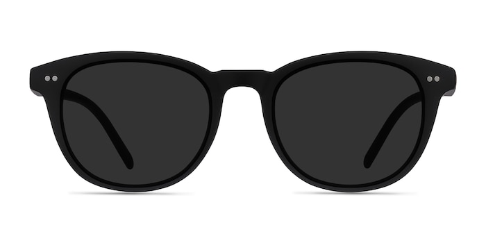 Hidden Black Plastic Sunglass Frames from EyeBuyDirect