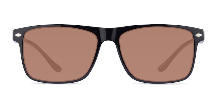 Cortez Black Plastic Sunglass Frames from EyeBuyDirect
