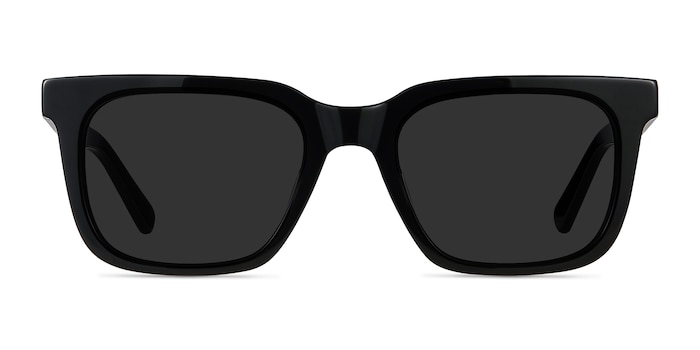 Riddle Black Acetate Sunglass Frames from EyeBuyDirect