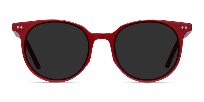 Hideout Red Acetate Sunglass Frames from EyeBuyDirect