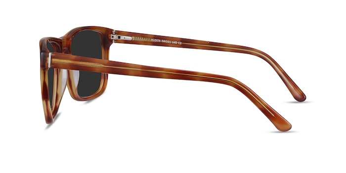Kudos Brown Acetate Sunglass Frames from EyeBuyDirect