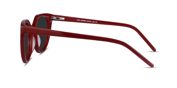 Sun Rhyme Burgundy Acetate Sunglass Frames from EyeBuyDirect
