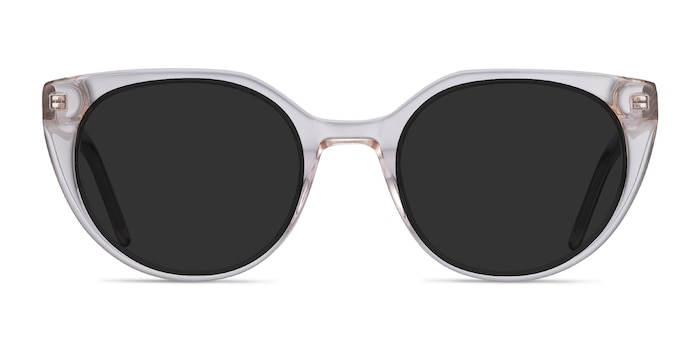 Sun Rhyme Champagne Acetate Sunglass Frames from EyeBuyDirect