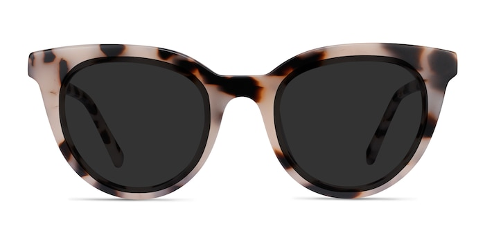 Cherish Ivory Tortoise Acetate Sunglass Frames from EyeBuyDirect