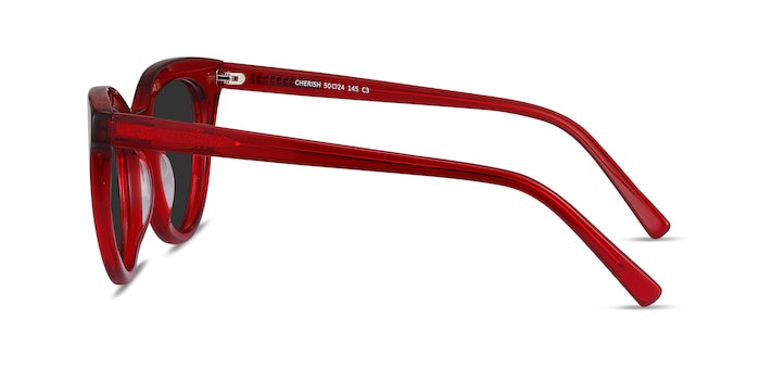Cherish Red Acetate Sunglass Frames from EyeBuyDirect