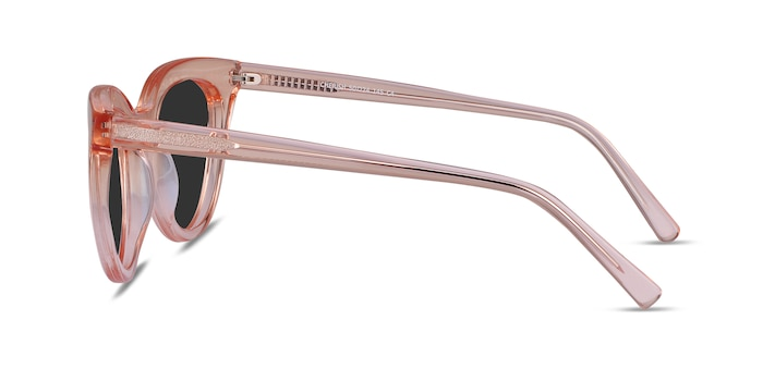 Cherish Champagne Acetate Sunglass Frames from EyeBuyDirect