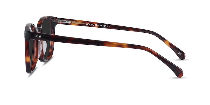 Soleil Tortoise Acetate Sunglass Frames from EyeBuyDirect