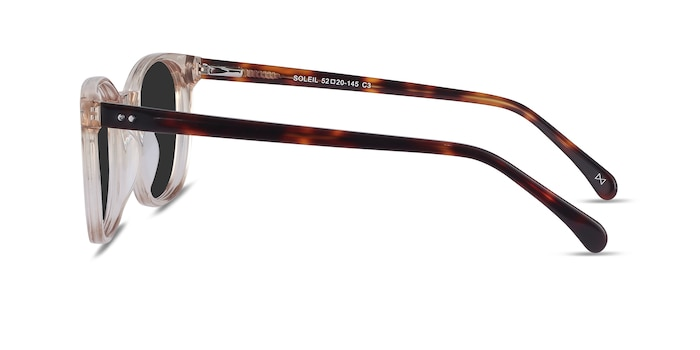 Soleil Champagne Acetate Sunglass Frames from EyeBuyDirect