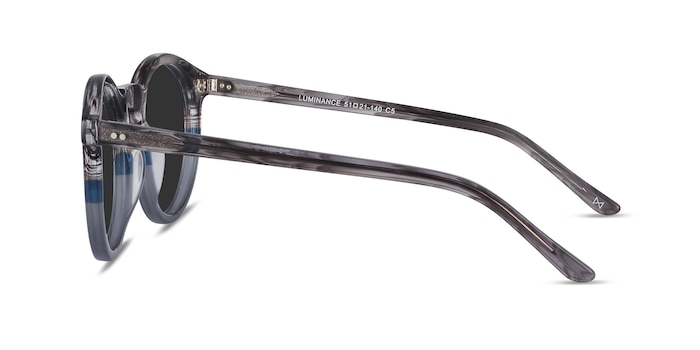 Luminance Striped Acetate Sunglass Frames from EyeBuyDirect