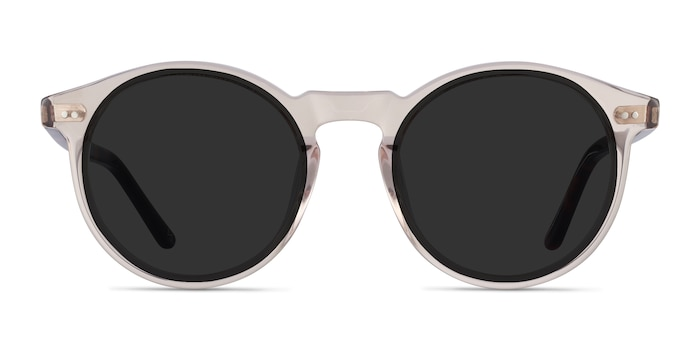 Luminance Champagne Acetate Sunglass Frames from EyeBuyDirect