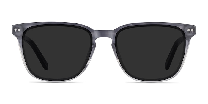 City Striped Acetate Sunglass Frames from EyeBuyDirect