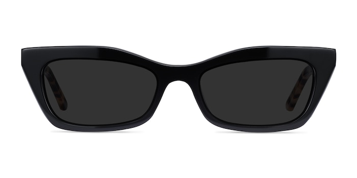 Suite Black Acetate Sunglass Frames from EyeBuyDirect