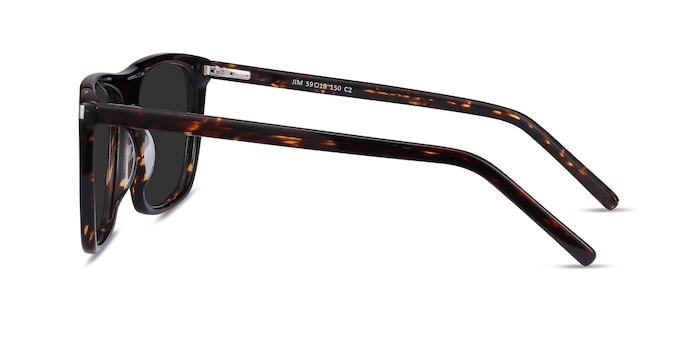 Jim Dark Tortoise Acetate Sunglass Frames from EyeBuyDirect